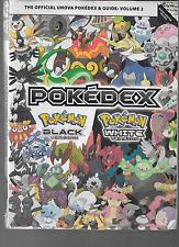 Pokemon Pokedex Official Black Version & Pokemon White Version Vol 2 Paperback