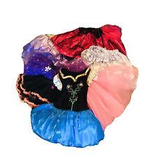 Dress Up Clothes Lot Toddler Girls 7 Pieces Princess One Size Halloween Pretend