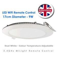 Milight Wifi Remoto Controllato Luce LED ROUND pannello (9w, 17cm) - Dual Bianco
