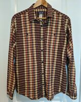 Patagonia Shirt - 100% Organic Cotton Button Shirt Size Medium Med M