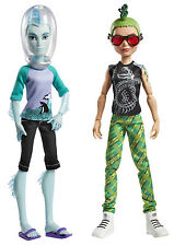 Monster High Gil Webber & Deuce Gorgon coleccionista muñeca raramente cbx42