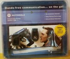 MOTOROLA Portable Bluetooth Hands-Free Speaker T305 WITH Wall and Car Adapters
