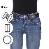 Buckle-Free Elastico Donna Comodo Invisibile Cintura per Jeans No Pacco Fastidio