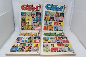 GIBI SEMANAL BRAZILIAN COMICS RGE 4 VOLUMI 1/40 COLECAO COMPLETA [W009-003]