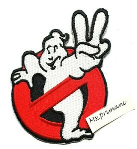 Embroidered New Ghostbuster  Iron/Sew On Patch Clothes Hat Badge 9.3 x 7.2 cm
