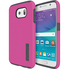 Incipio Samsung Galaxy S6 Case Dual Layer Impact-Absorbing Pink/Grey Cover