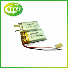2pcs Genuine 3.7V 200mah Li-ion Rechargeable Battery For Camera MP3 Bluetooth A