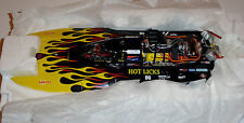 Bad Ass 1/18 HOT LICKS Dennis Gibson's Top Fuel Hydro Drag Boat #TFH0603 /1250