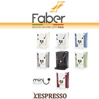 MACCHINA CAFFÈ FABER MINI SLOT CIALDE E.S.E. 44mm