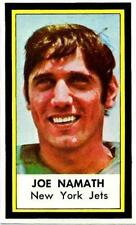 1971 DELL   FOOTBALL STAMP  RARE SUPER NICE JOE NAMATH MINT RARE