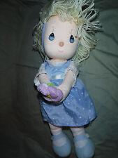 "Precious Moments Doll 15"" Plush Soft Toy Stuffed Animal"