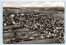 *Aerial View Altshausen Wurtt Swabian Germany Rppc 4x6 Real Photo Postcard C03