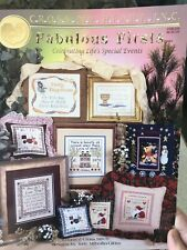 Fabulous Firsts Cross Stitch Life Events Communion Baptism Home Cross My Heart
