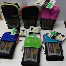 Five Star Stand 'N Store Pencil Pouch. Interior Pocket Choose the color #581