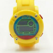 Marc Ecko Unltd Yellow Silicone Parlay Large Face Digital Watch