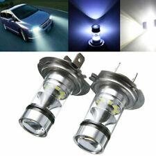 2x LED Antiniebla del coche Luz de niebla para H7 100W 20LED Bombilla de blanco