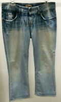 BKE Women's Blue Denim Capri Jeans Size: 29