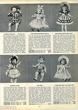 1953 ADVERT Horsman Fairy Skin Baby Little Girl Heartbeat Doll Boy Effanbee