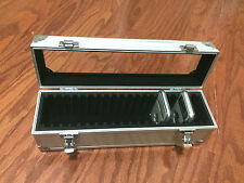 Aluminum Storage & Display Box Case Holds 20 PCGS NGC ANACS Coin Holders Slabs