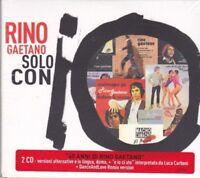 2 CD ♫ Box Set «RINO GAETANO • SOLO CON IO» nuovo sigillato digipack