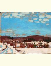 Early Spring, Tom Thomson. Blank Journal : 150 Blank Pages, 8,5x11 Inch (21....