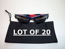 Lot of 20 Dust Bags for Glasses and Sunglasses - soft micro fiber cloth case bag