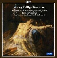 G.P. Telemann - Passion Cantatas [New CD]