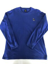 OVO Octobers Very Own Original Owl Sweatshirt Crewneck Blue L 100% Authentic