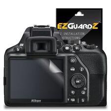 2X EZguardz Clear Screen Protector Shield HD 2X For Nikon D3500