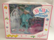 *Rare Zapf Creation Mini Baby Born Winter Sleigh Accessories Set BNIB**
