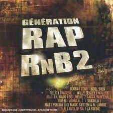 Génération rap rnb 2 relic, tragedie, Matt pokora, rim 'K, willy Denzey... [2 CD]