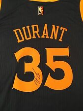 KEVIN DURANT Signed Autographed Golden State Warriors JERSEY w/ Tags