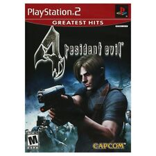 Resident Evil 4 (Greatest Hits, 2005) USA Playstation 2 PS2 with manual