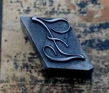 Z  Initial Bleibuchstabe Stempel Siegel Buchstabenstempel Buchstabe Bleiletter