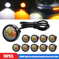 10pcs 23MM Eagle Eye LED DRL Daytime Running Reversing Light Car Tail Lamp DC12V