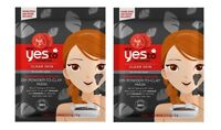 Yes To Tomatoes Detoxifying Charcoal DIY Powder to Clay Mask 1 Ct (2 Pack)