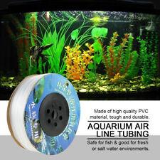 100M White Air Line PVC Tubing for Aquarium Fish Tank Pump PREMIUM QUALITY US