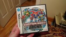"""NINTENDO DS: """"Custom Robo Arena"""" - OPENED, COMPLETE - PLAYED ONCE! NR-MINT+++"""