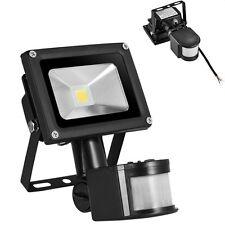 10W LED Fluter Warmweiss Aussen Flutlicht Strahler mit Bewegungsmelder IP65