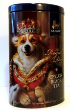 Corgi Queen Richard tea the royal Gift metal box best gift! NEW Limited Edition