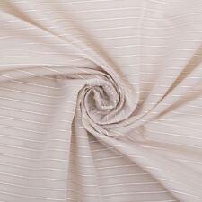 Amelie Corduroy Beige Ticking Pinstripe Furnishings Striped Upholstery Fabric