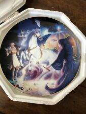"""Franklin Mint Heirloom Cinderella Collector Plate """"The Magical Moment"""""""