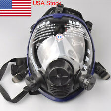 Anti-dust Full Face Mask Facepiece Respirator Painting Spraying Gas Mask F 6800