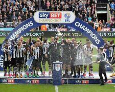 Newcastle United Champions Championship Winners 2017 10x8 Photo
