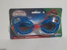 New Ultimate Spider Man Marvel Kids Ages 3+ Swimming Goggles - Latex Free