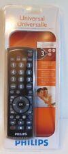 New Philips Universal Remote Control 3 Device SRU2103 27 TV DVD VCR