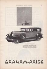 1928 Graham-Paige Ad