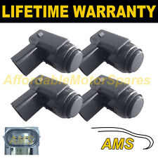 4X FOR VW BEETLE TOURAN TOUAREG PHAETON BLACK PDC PARKING SENSOR 4PS1703S