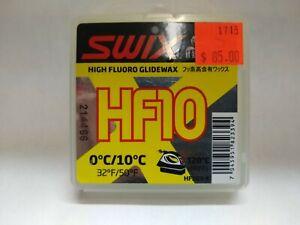 Swix HF 10 High Flouro Glide Wax