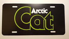 Vintage Arctic Cat Snowmobile Word Logo Novelty License Plate